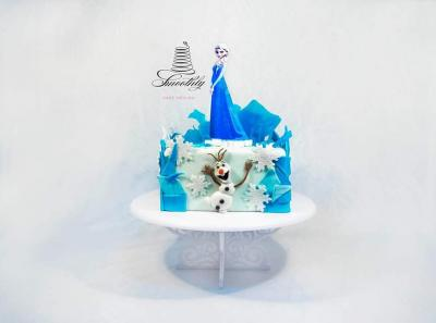 frozen cake by smoothly